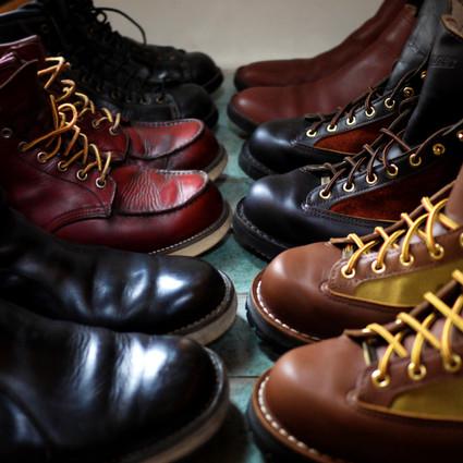 冬はブーツの季節。メンテも楽しい