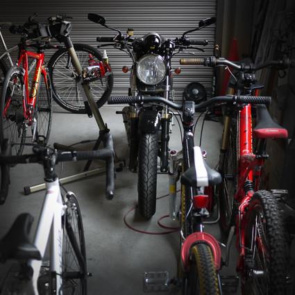 My Garage 今年も増えました・・・キャノンデール