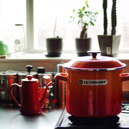 Lecreuset stockpot 国内未発売の寸胴ホーロー鍋。 気分はレミーのおいしいレストラン