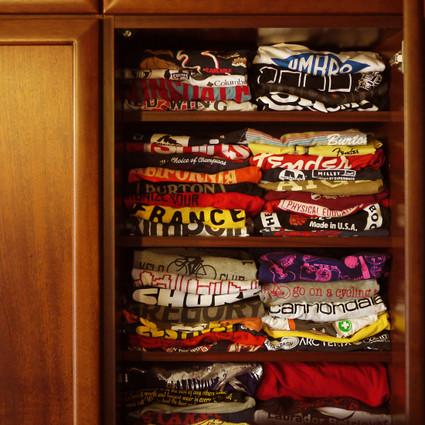 今年も増えたTシャツ・・・