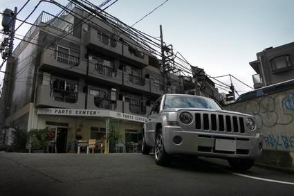 PFS PARTS CENTER × Jeep パトリオット